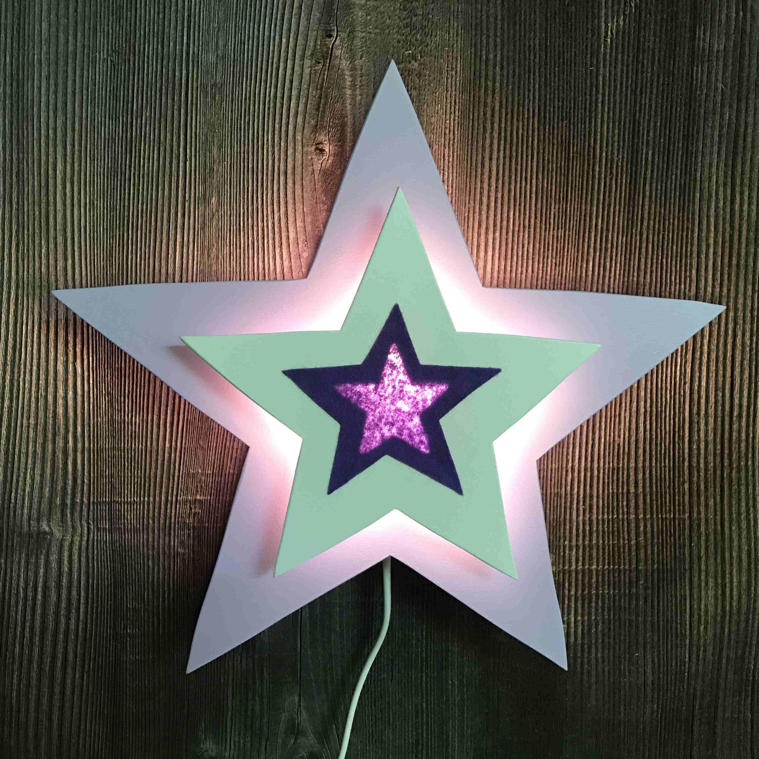 Stern lila