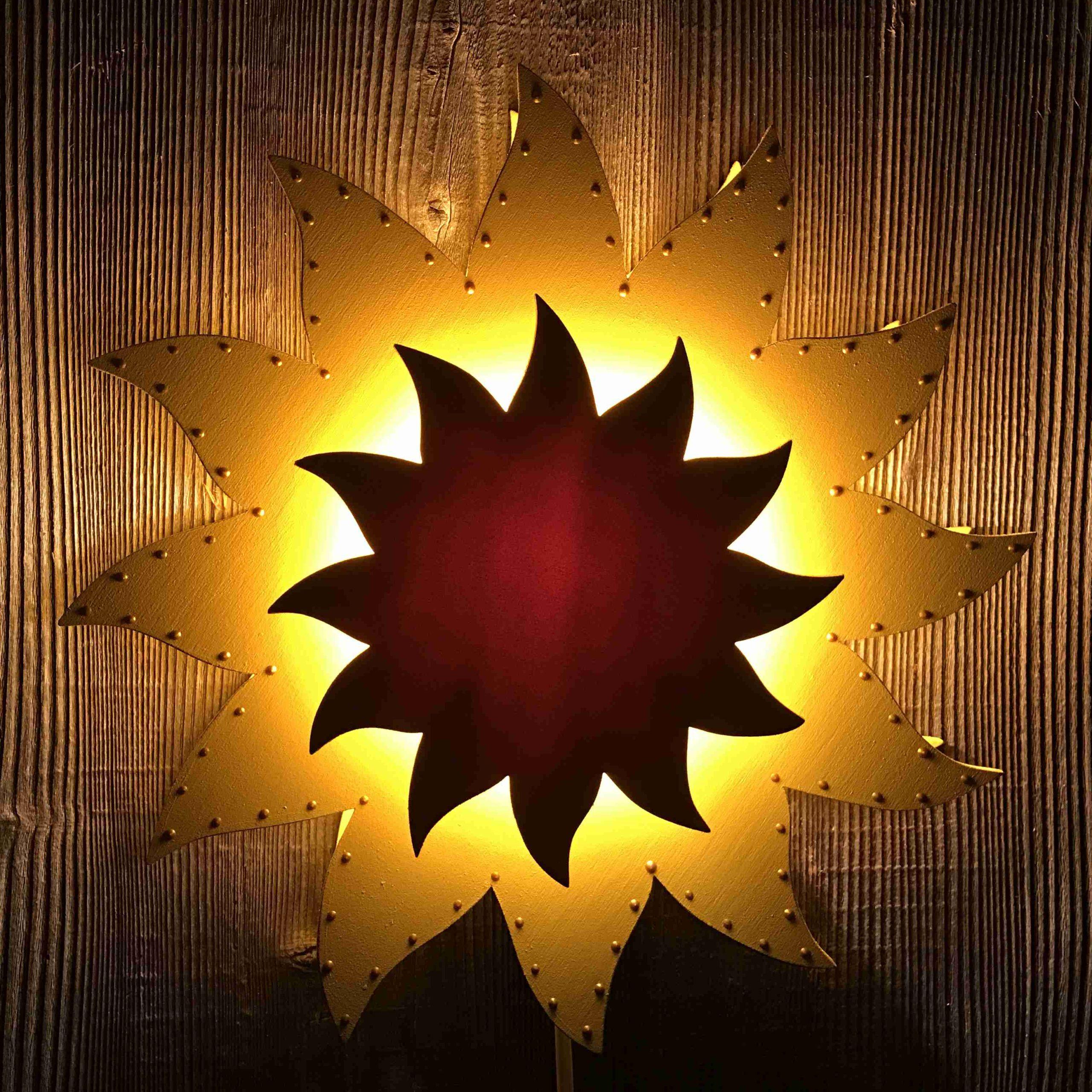Sonne mit Deco-Pointer