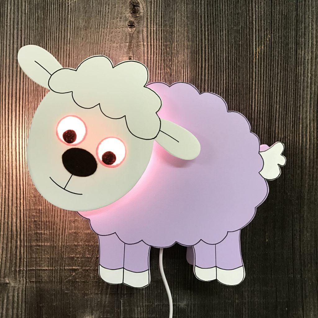 Schaf lila